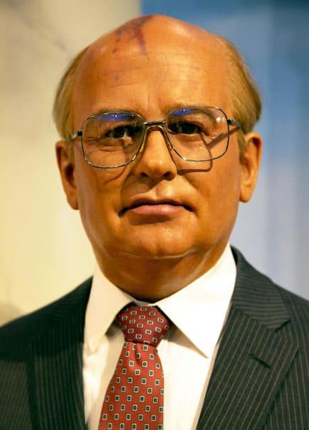 Gorbatschow besucht Hugo Kemmerich in Münster