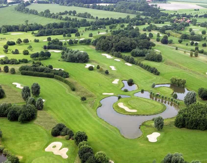 GLC Coesfeld Golfplatz Vogelperspektive